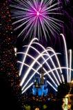 Años Nuevos de celebración en Disneyworld Imagen de archivo