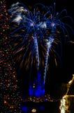 Años Nuevos de celebración en Disneyworld Fotos de archivo