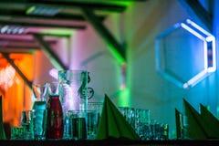 Años Nuevos de celebración, lujosamente hecha tablas Imagen de archivo