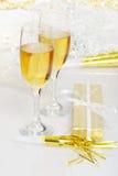 Años Nuevos de champán Fotos de archivo libres de regalías
