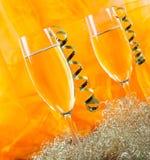 Años Nuevos de champán Fotos de archivo