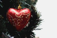 Años Nuevos de corazón Foto de archivo libre de regalías