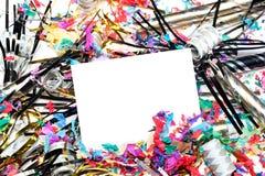 Años Nuevos de decoraciones Fotografía de archivo libre de regalías