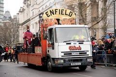 Años Nuevos de desfile Foto de archivo libre de regalías