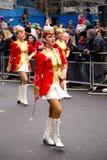 Años Nuevos de desfile Fotos de archivo