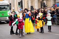 Años Nuevos de desfile Imagen de archivo