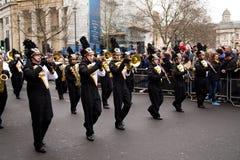 Años Nuevos de desfile Foto de archivo