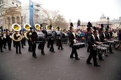 Años Nuevos de desfile Fotografía de archivo