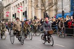 Años Nuevos de desfile Imagenes de archivo