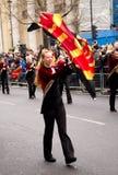 Años Nuevos de desfile Fotos de archivo libres de regalías