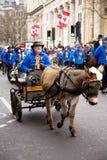 Años Nuevos de desfile Imágenes de archivo libres de regalías