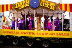 Años Nuevos de desfile Fotografía de archivo libre de regalías