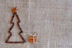 Años Nuevos de fondo con café Vista superior del fondo de los granos de café Fondo de la Navidad con café Imágenes de archivo libres de regalías
