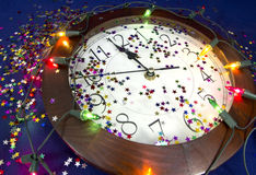 2015 Años Nuevos de fondo del partido Fotos de archivo libres de regalías