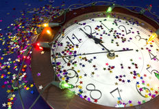 2015 Años Nuevos de fondo del partido Imagenes de archivo