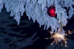 Años Nuevos de los días de fiesta-Chistmas Foto de archivo