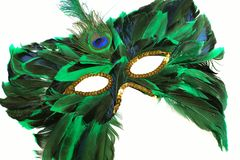 Años Nuevos de máscara del carnaval Imágenes de archivo libres de regalías