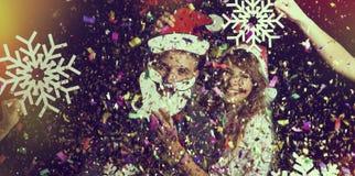 Años Nuevos de partido Fotos de archivo libres de regalías