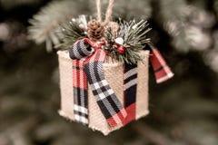 Años Nuevos de regalo Imagen de archivo libre de regalías