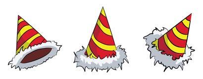 Años Nuevos de sistema del sombrero libre illustration