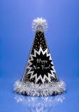 Años Nuevos de sombrero del partido Fotos de archivo libres de regalías