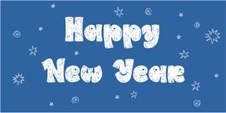 Años Nuevos de tarjeta Imágenes de archivo libres de regalías