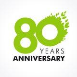 80 años que celebran verde Imagen de archivo