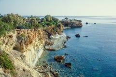 Aúlle en la isla de Creta, Grecia, Mar Egeo Fotos de archivo libres de regalías