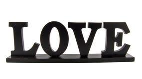 """Aún  de madera del """"LOVE†de la vida Imagen de archivo"""