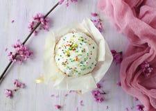 Aún lifes coloridos con los pasteles Fotografía de archivo