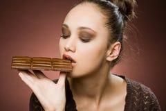 Aún más chocolate. Fotos de archivo