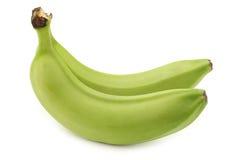 Aún plátanos inmaduros frescos Fotografía de archivo