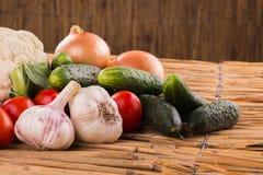 Aún una vida hermosa de frutas jugosas frescas Foto de archivo
