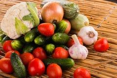 Aún una vida hermosa de frutas jugosas frescas Fotos de archivo