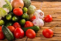 Aún una vida hermosa de frutas jugosas frescas Imágenes de archivo libres de regalías