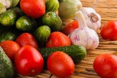 Aún una vida hermosa de frutas jugosas frescas Imagen de archivo
