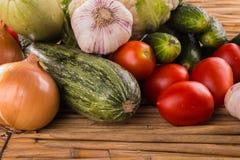 Aún una vida hermosa de verduras maduras Foto de archivo libre de regalías