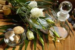 Aún-vida, aroma de la flor Fotografía de archivo