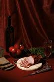 Aún vida comestible Imagen de archivo libre de regalías