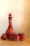 Aún-vida con cerámica marroquí Foto de archivo libre de regalías