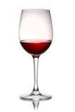Aún-vida con el vidrio de vino rojo Fotografía de archivo libre de regalías