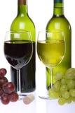 Aún-vida con el vino Imágenes de archivo libres de regalías