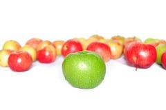 Aún-vida con la manzana verde Fotos de archivo libres de regalías