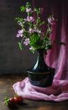 Aún-vida con las flores Imágenes de archivo libres de regalías