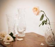 Aún-vida con las rosas Foto de archivo