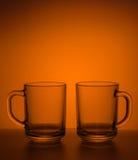 Aún-vida con las tazas del té Imagen de archivo