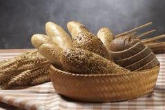 Aún-vida con pan Foto de archivo