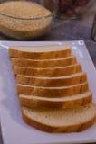 Aún-vida con pan Fotografía de archivo libre de regalías
