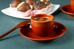 Aún-vida con una taza de café Fotografía de archivo