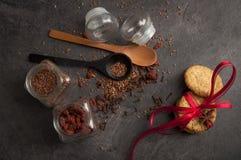 Aún-vida de comidas rurales Fotografía de archivo libre de regalías